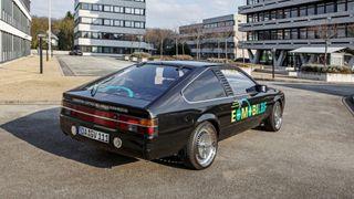 Denne elbilen går på naturgass