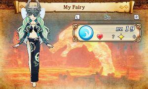 «My Fairy» lar deg avle opp feer som hjelper deg i kamp.