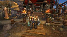 Bilde av den siste utvidelsespakken, Warlords of Draenor.