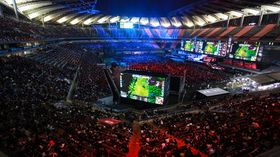 Verdensmesterskapet i League of Legends ble i 2014 arrangert på Seoul World Cup Stadium i Sør-Korea.
