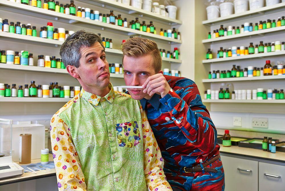 Harry Parr og Sam Bompas Foto: Stefan Braun.