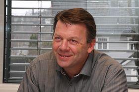 Prosjektleder for Stad skipstunnel i Kystverket, Terje Andreassen.