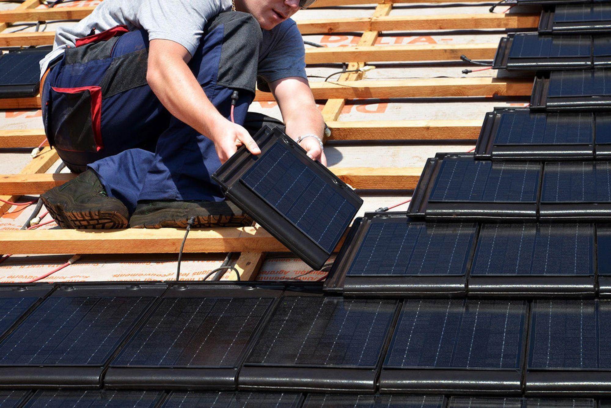 Kun 76 boliger fikk støtte fra Enova til elproduksjon i fjor. Det aller meste var solkraft.