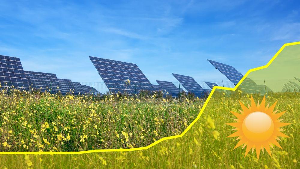 Etter en litt beskjeden utvikling i 2013 og 2014 gjorde verdens solkraftproduksjon et skikkelig byks i fjor.