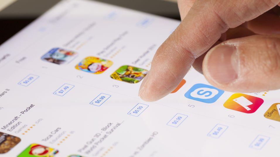 – Apple planlegger store endringer i app-butikken sin