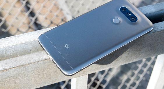 LG G5 ble sluppet for bare et par uker siden.