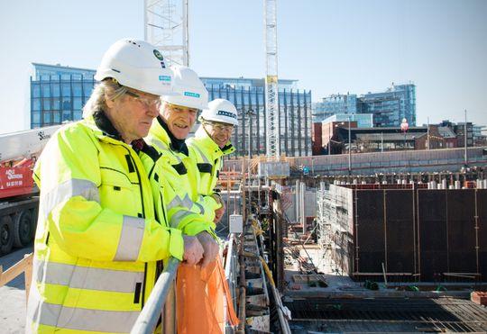 De erfarne rådgiverne søker alltid etter nye kolleger. Avbilet: Knut Sand, Svein Borgen og Ivar Barstad.