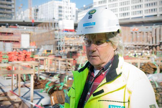 Det er ekstremt viktig for Rambøll å være tilstede på byggeplassen, ikke bare på kontoret, sier seniorkonsulent Knut Sand.