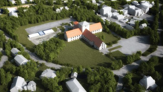 Favn ved Arkitekturfabrikken kom på tredjeplass, og juryen skriver forslaget «favner om skipene og landskapet med et tydelig arkitektonisk grep som kommer Arnebergs arkitektur i møte».