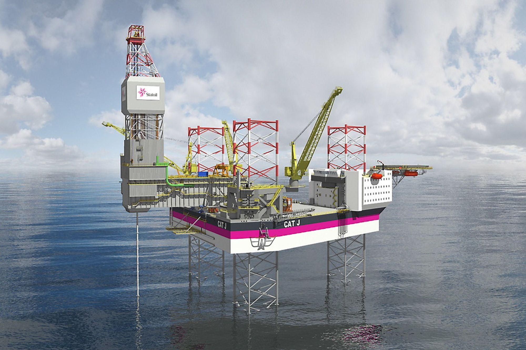 De såkalte CAT J-riggene skal operere på Oseberg og Gullfaks. Boreselskapet KCA Deutag har søkt etter 300 personer til å jobbe offshore.