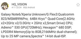 Denne Weibo-posten skal visstnok fortelle oss en del om hvordan Galaxy Note 6 blir.