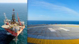 Statoil brukte hel rigg som helidekk i flere måneder. Prislapp: To millioner kroner dagen
