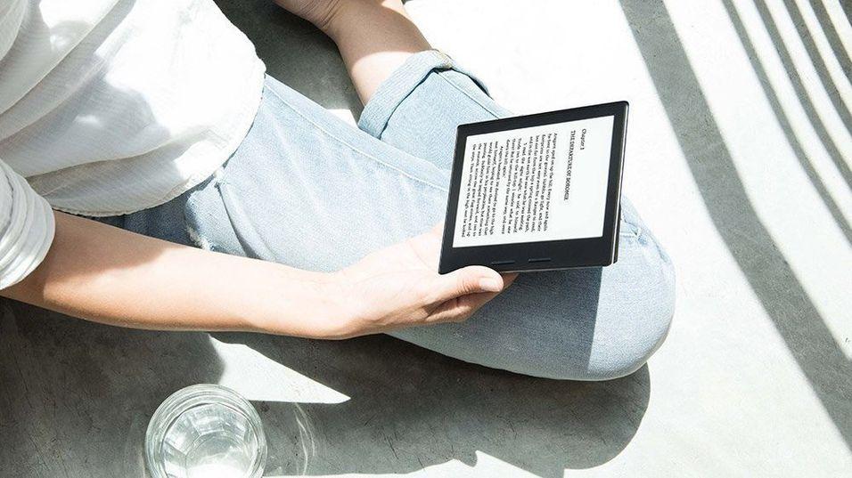 Nye Kindle Oasis.