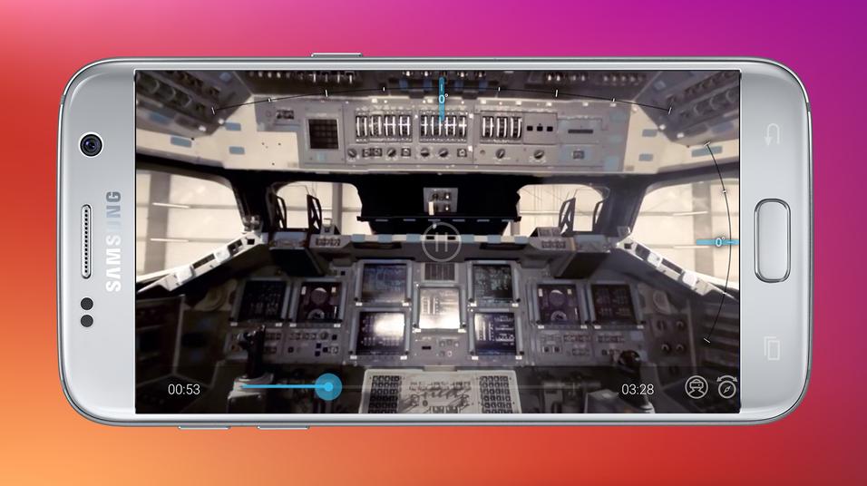 Milk VR-appen lar deg se VR-videoer direkte på Samsung-mobilen, uten behov for briller.
