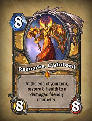 Ragnaros er en av karakterene som blir renovert i Whispers of the Old Gods.
