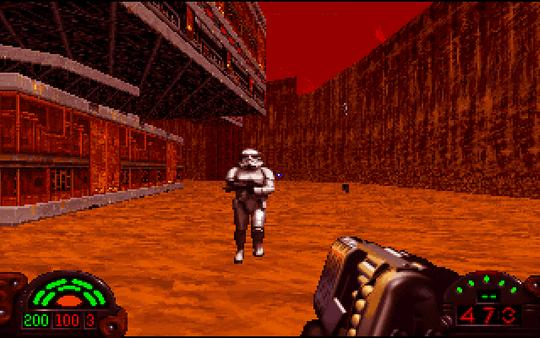 Spillmotoren i Dark Forces var den første som lot utviklerne bygge i høyden.