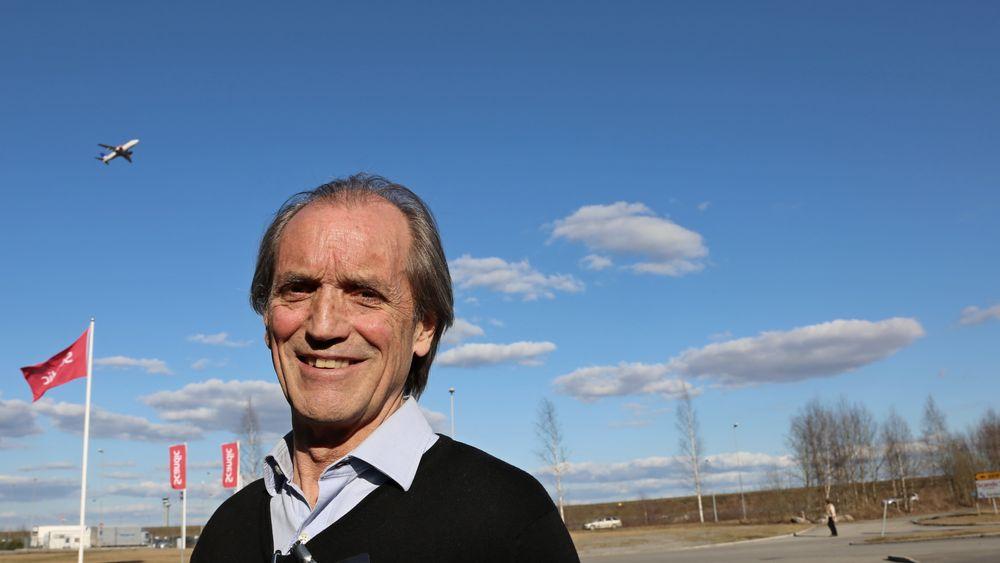 Robert Piché besøkte Flyoperativt forum på Gardermoen for å fortelle om da han glidelandet en A330 på Azorene.