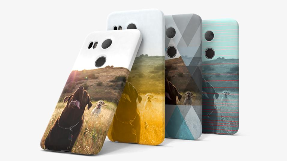 Google vil la deg designe dine egne deksler til Nexus-telefonene.