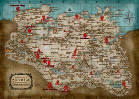 Holds introduserer en rekke endringer til Skyrim-kartet.
