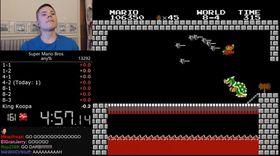 «Darbian» slo sin egen verdensrekord i Super Mario Bros. med 167 millisekunder.