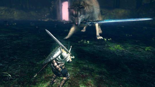 Great Greywolf Sif er en av de beste sjefsoppgjørene fra Dark Souls.