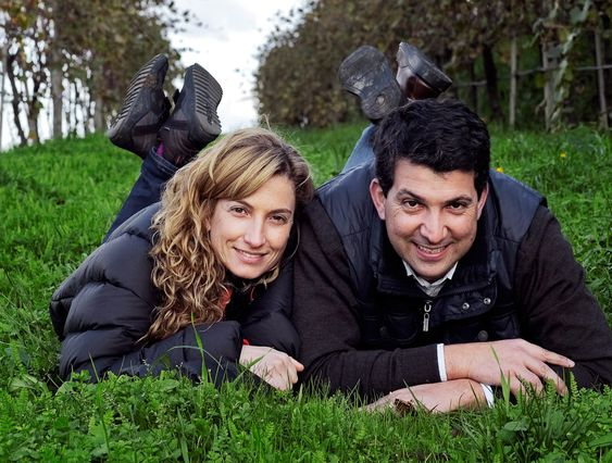 Maria Joao Cerdeira og Luis er tredje generasjon på Quinta do Solaheiro.