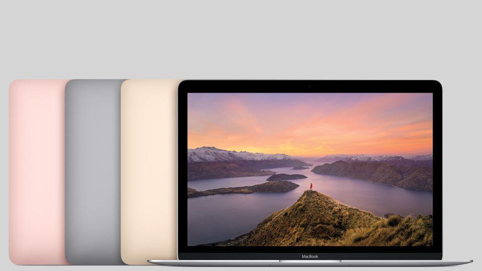 Apple har lansert raskere MacBooker – i rosa