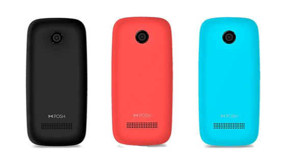 Posh-mobilen kommer i flere farger.