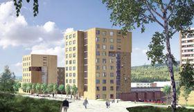 Studentsamskipnaden i Oslo regner med at de nye studentboligene vil stå klare allerede i 2017.