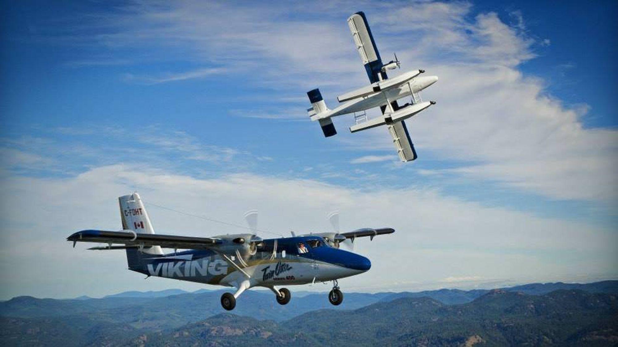 DHC-6 Series 400 er en modernisert Twin Otter som har vært i produksjon i snart seks år.