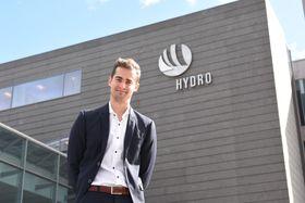 Hydros høye HMS-standard og gode prosjektmodell ble trukket frem i forelesningene på NTNU – det gjorde Andreas oppmerksom på Hydro som potensiell arbeidsgiver.
