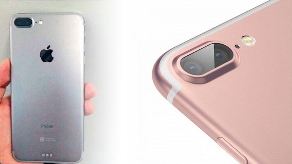 Slik vil iPhone 7 bli seende ut, ifølge tidligere lekkasjer. Nye rykter indikerer at telefonen skal droppe 16 GB-alternativet.
