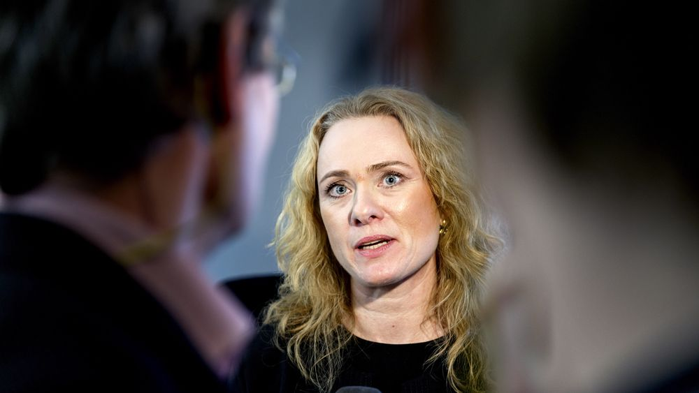 Arbeids- og sosialminister Anniken Hauglie (H).