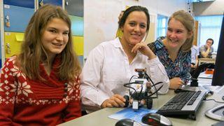 Her får elevene bygge roboter på skolen