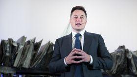 Elon Musk holdt foredrag under konferansen «Fremtidens transportløsninger» i Oslo i dag.