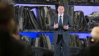 Elon Musk under besøk i Oslo i 2016.
