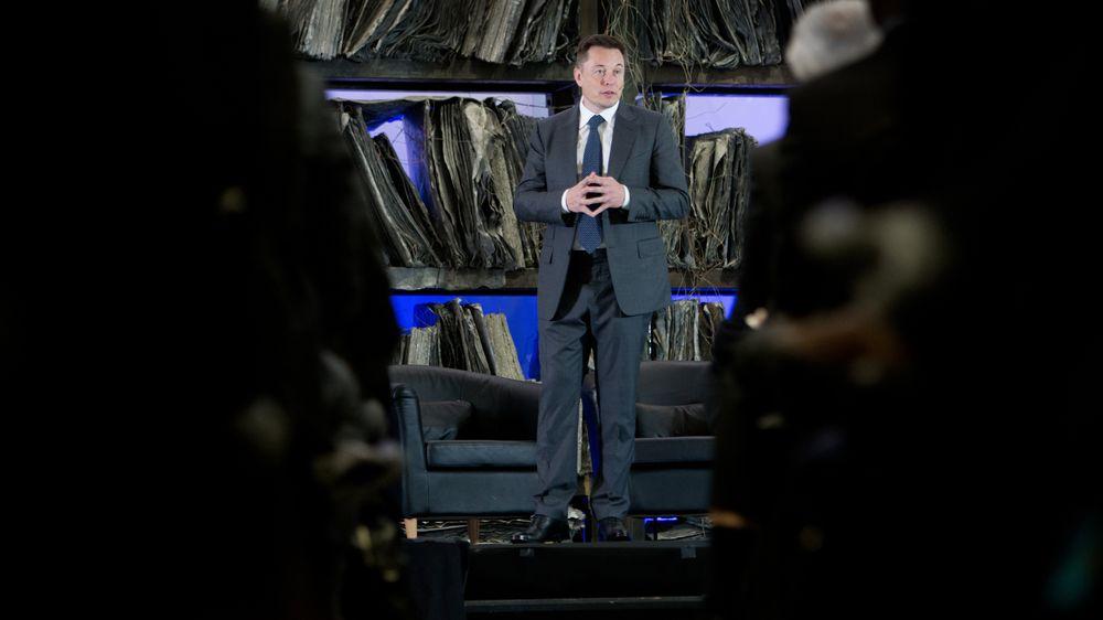 Elon Musk i Oslo.