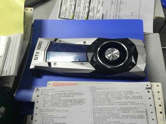 Dette er etter alt å dømme Nvidias nye stjerne, Pascal-baserte GTX 1080.