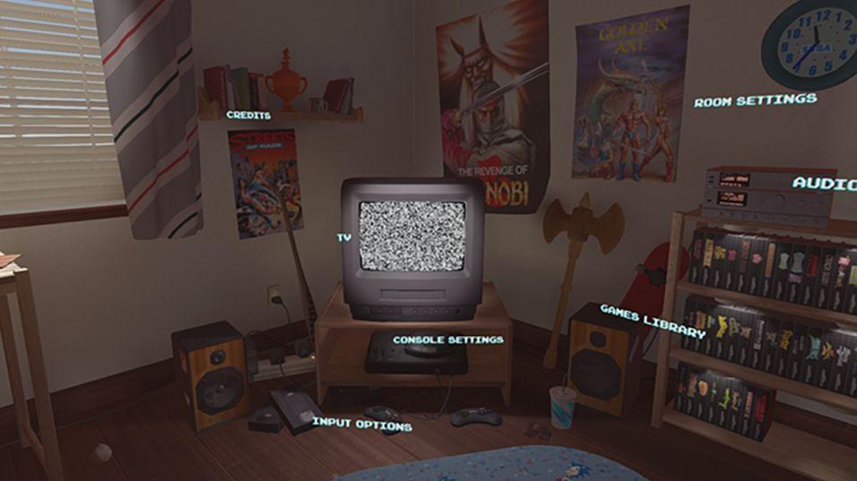 Snart kan du oppleve Sega Mega Drive-spill i et heftig virtuelt rom