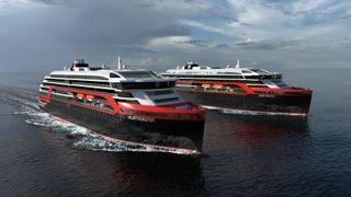Kleven skal bygge inntil fire nye skip for Hurtigruten