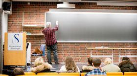 Universitetet i Stavanger er blant institusjonene som har fått tildelt studieplasser i pedagogikk spesielt for ingeniører, i alt 60 plasser, hvorav halvparten hadde oppstart dette vårsemesteret. Interessen for studiet har vært enorm.