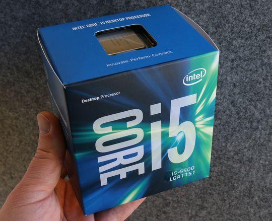 Kjøpt på salg: Intel Core i5-6500.