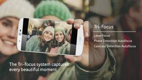 Mobilen kommer med det Acer kaller et «Tri Focus»-kamera.