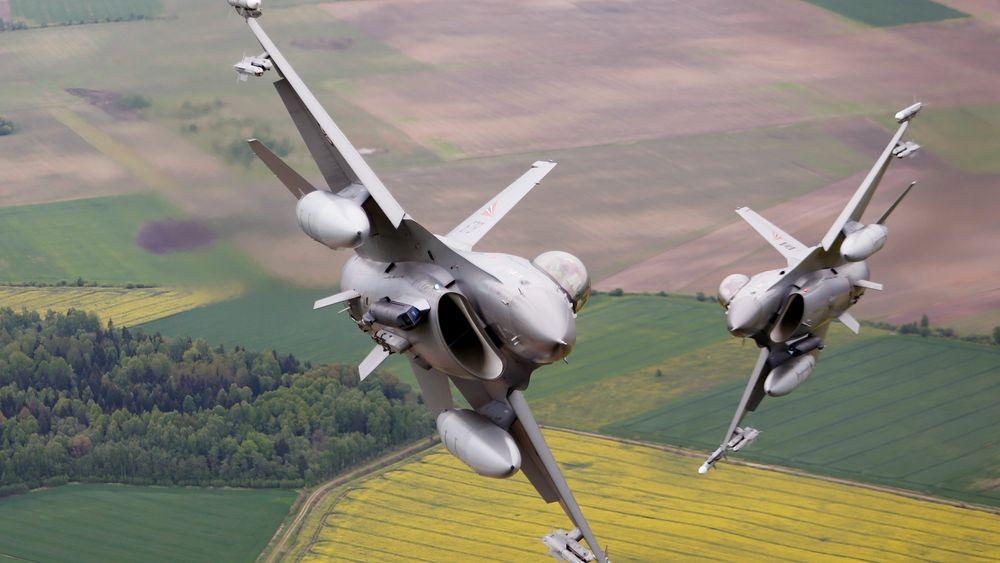Norsk F-16-pilot åpnet ild mot et kontrolltårn med tre norske offiserer i under øvelse.