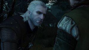 Du velger selv hvor menneskelig Geralt skal se ut.