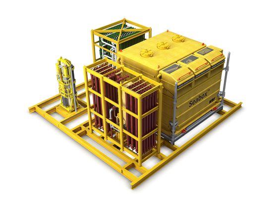 Boksen: Renseanlegget på havbunnen kan produsere vann fritt for sulfater ved hjelp av mikrofiltrering og membraner. Prototypen av anlegget vil koste ca. 160 millioner.