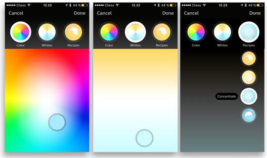 Det er flere måter å justere fargene på.
