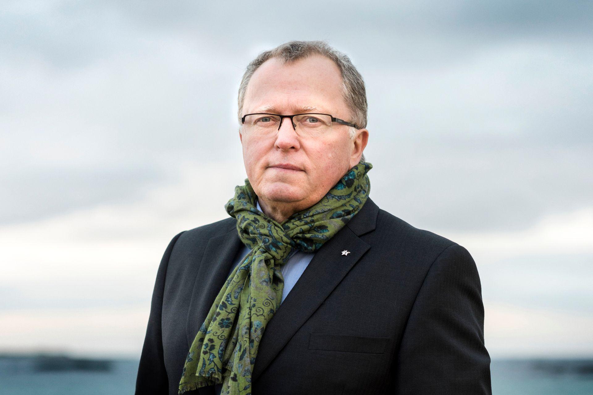 Lavmælt: Eldar Sætre kjenner Statoil inn og ut etter 36 år i selskapet. Som økonom og sunnmøring vet han hvordan det skal spares.