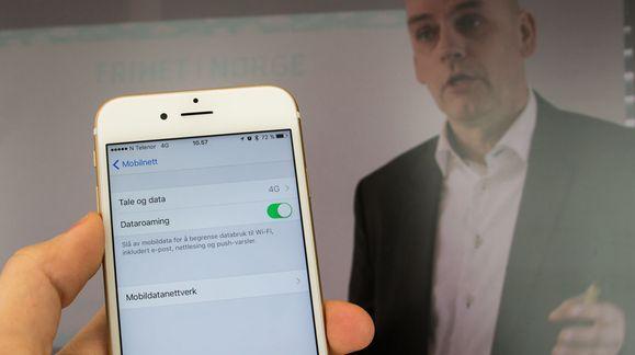 Telenor gjør det «gratis» å surfe på mobilen i hele EU og EØS