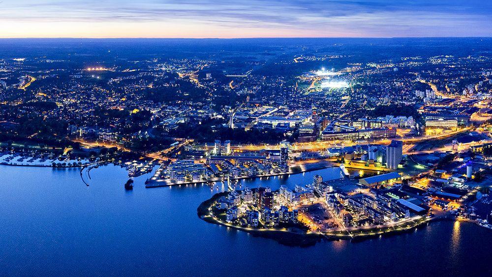 Västerås by night: Denne byen skal bli veldig smart